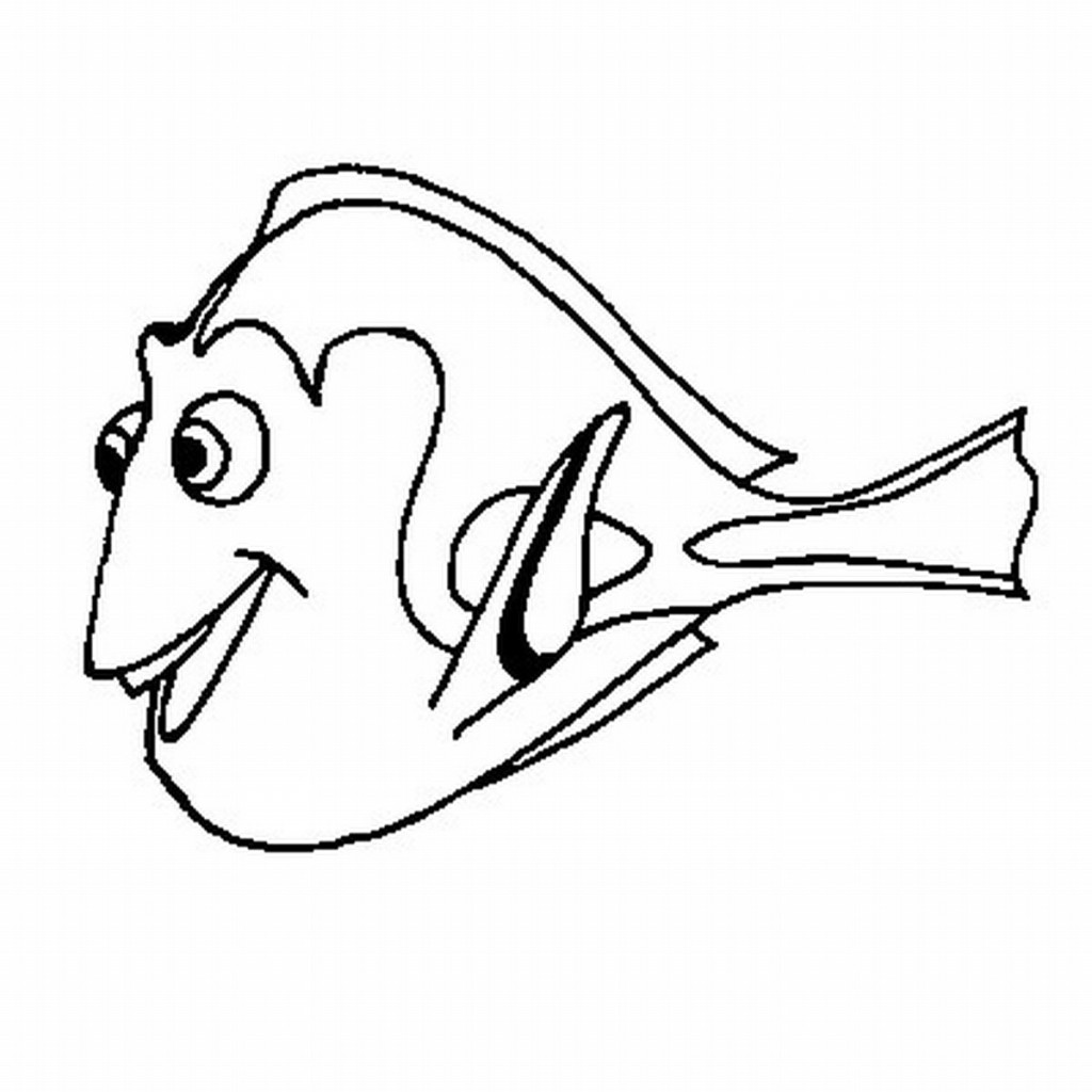 Nemo clipart coloring pages clipart