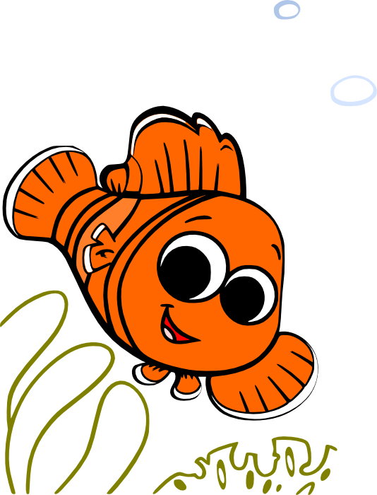 Nemo clipart free clipart images