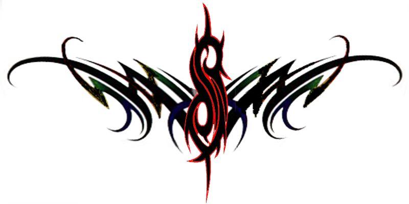 Tribal grim reaper clipart 3