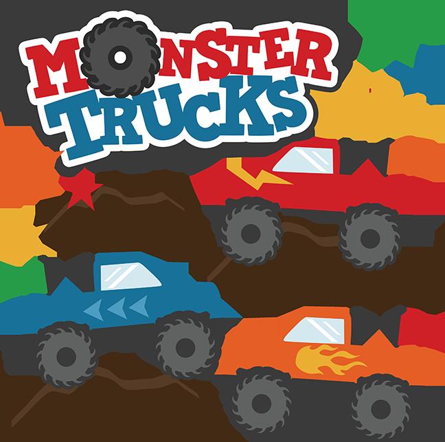 Clipart monster truck clipart