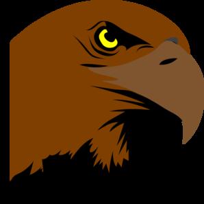 Hawk head logo clip art at vector clip art