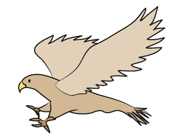 Hawk mascot clipart free clipart images 2