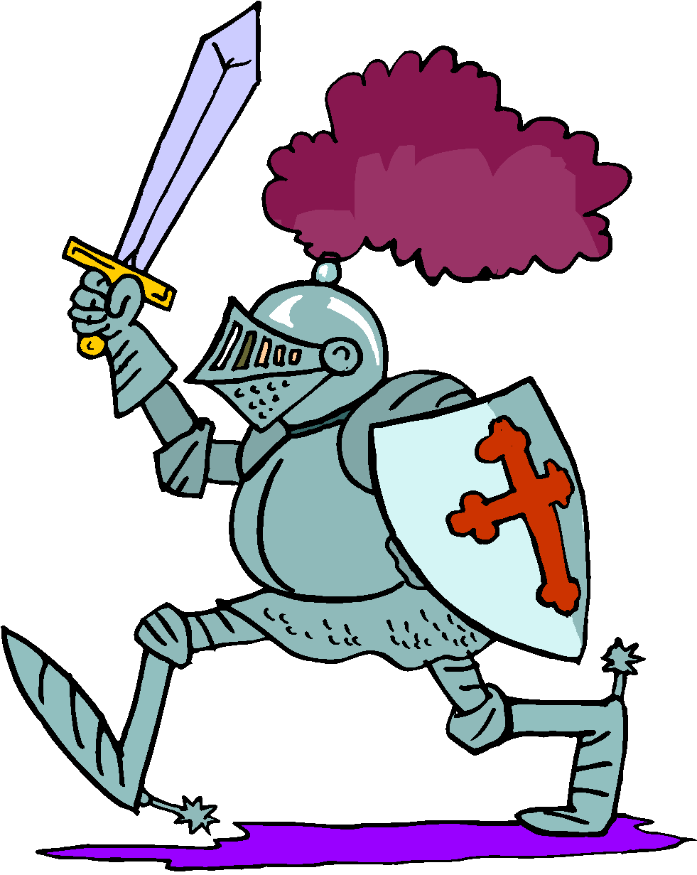 Knight clip art in vector or format free 2