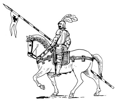 Knight string clipart
