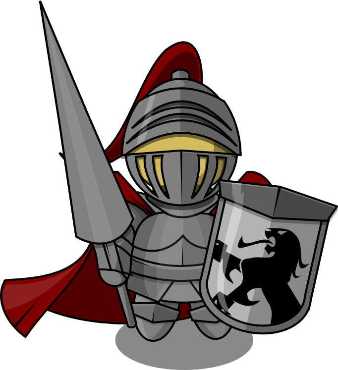 Knight5 clipart
