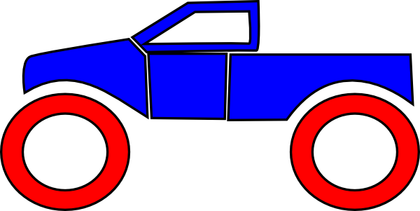 Monster truck clip art vector clip art free