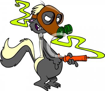 Skunk clip art free clipart images 3