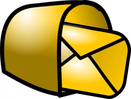 Email train clip art free vector
