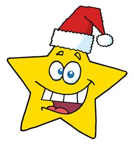 Free christmas clip art image christmas star