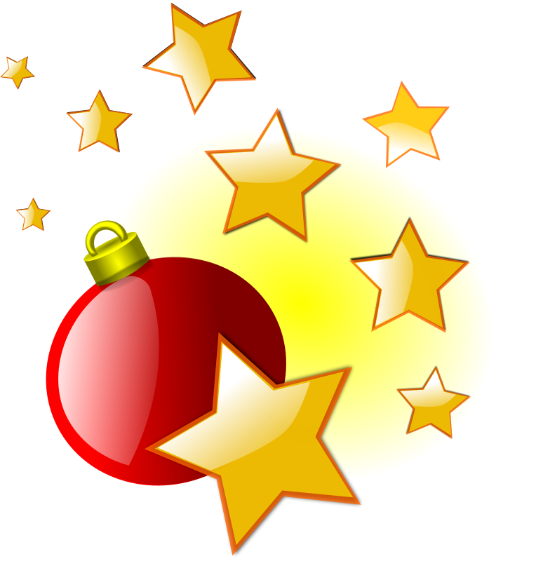 Image christmas stars clipart 2