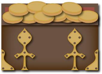 Treasure chest clip art 2