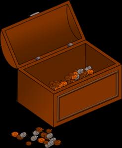 Treasure chest clip art at vector clip art 3