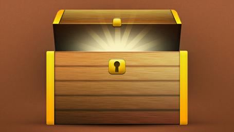 Treasure chest clip art vector treasure chest graphics