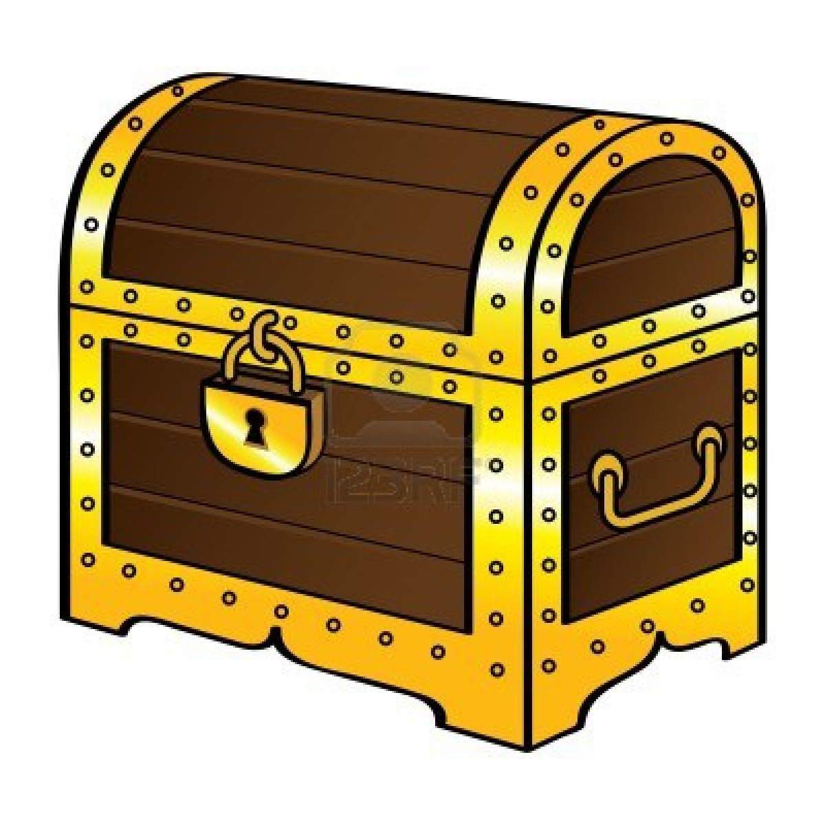 Treasure chest free coloring pages of empty treasure clip art