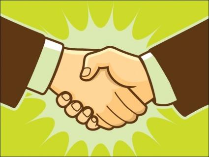 Art handshake download 1 page 1 clip art
