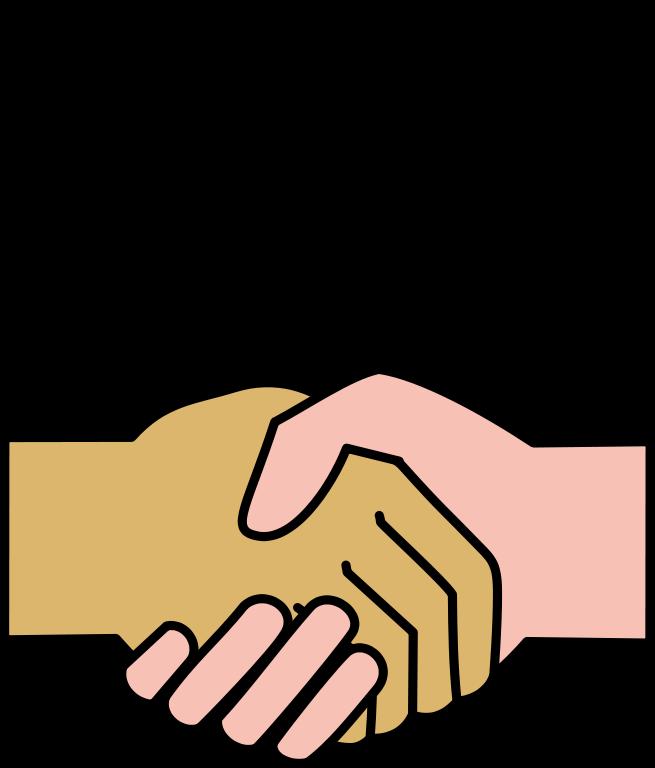 Christian handshake clipart