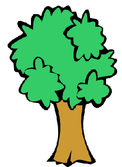 Clip art oak tree clipart