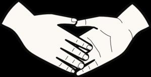 Handshake clip art at vector clip art