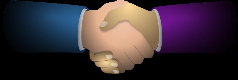 Handshake clipart 2