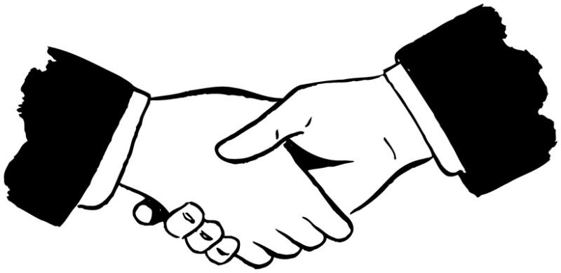 Handshake clipart clipart