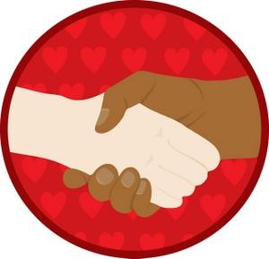 Handshake clipart image hands shaking