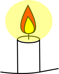 Pic animated candle christian clip art free