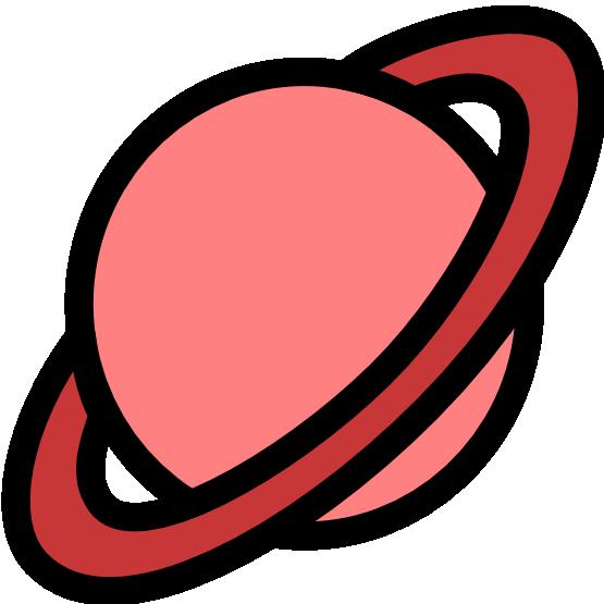 Pic cartoon planets clip art