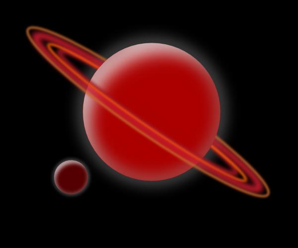 Planet clip art at vector clip art