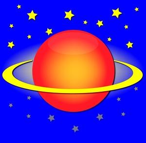 Planet clip art free clipart images