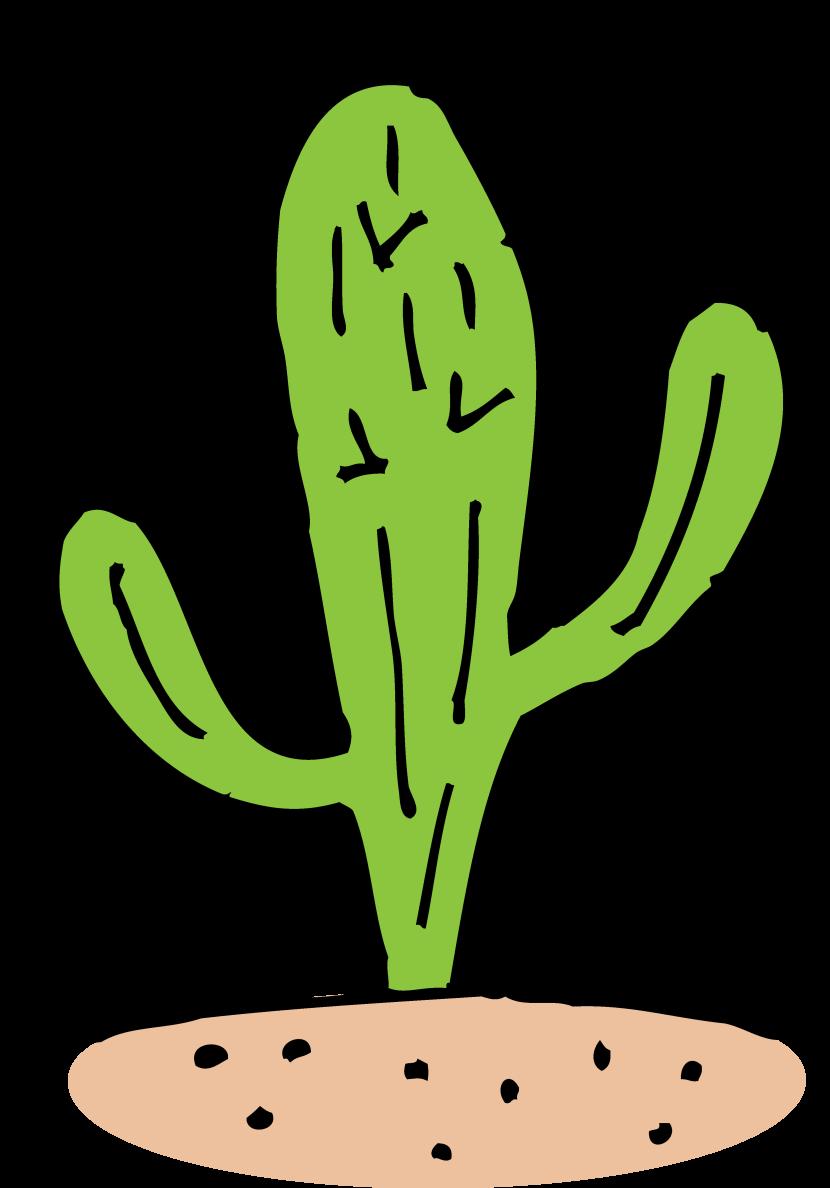 Cactus clip art 12