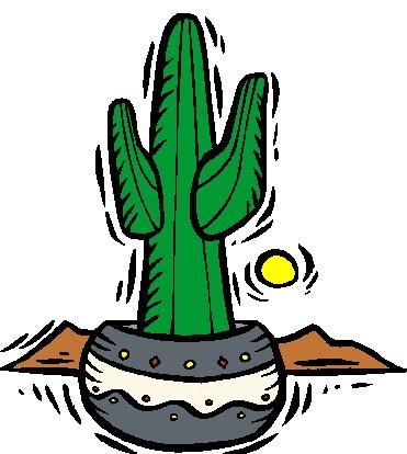Cactus clip art 8