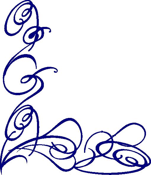 Free swirl designs clipart