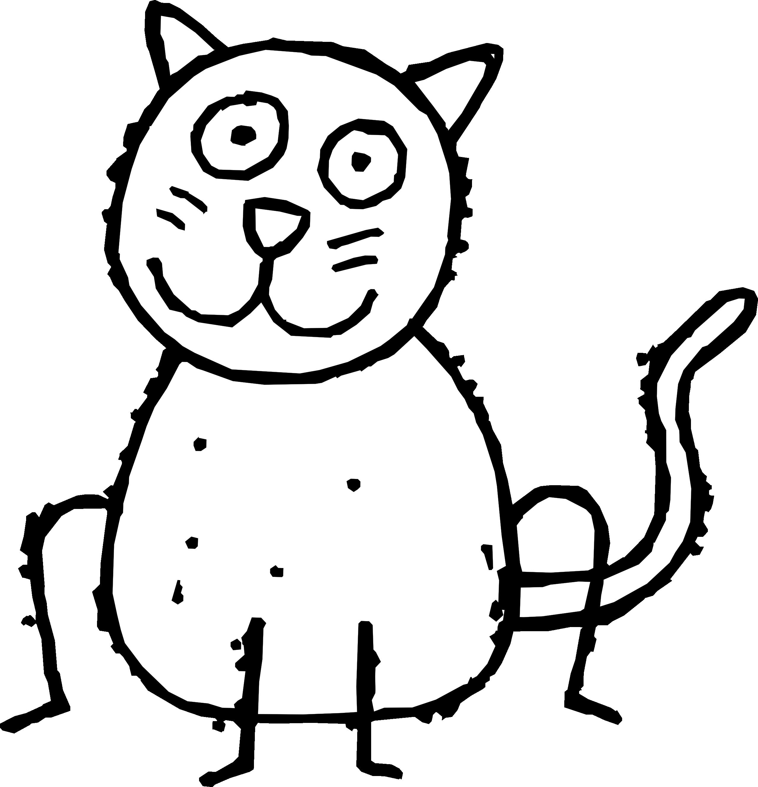 Kitten white cat clip art free clipart images