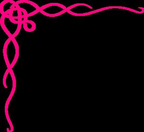 Pink swirl clip art at vector clip art