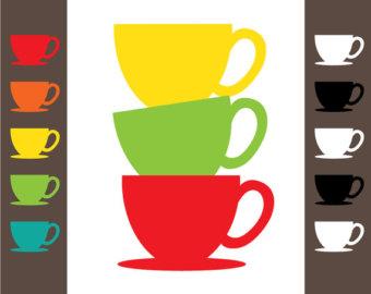 Teacup tea cup clip art