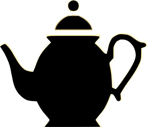 Teacup teapot clip art vector clip art free