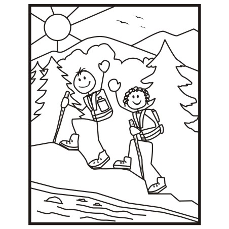 Hiking clipart  2