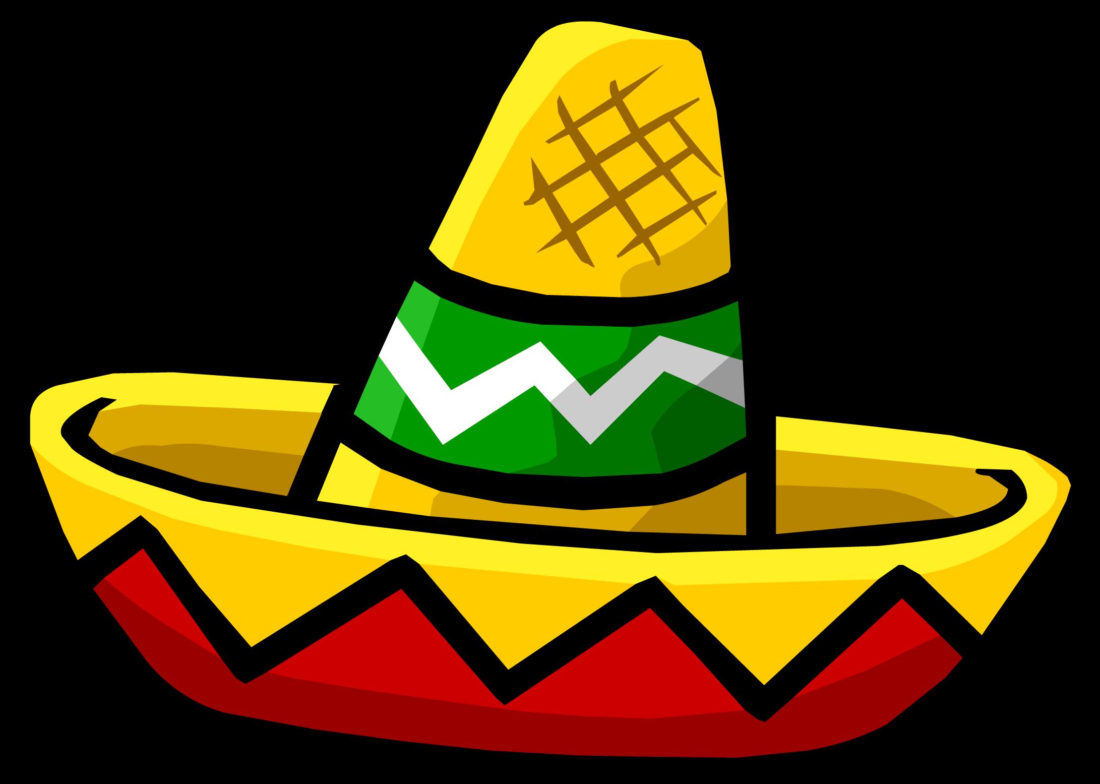 Image clip art mexican sombreros 2