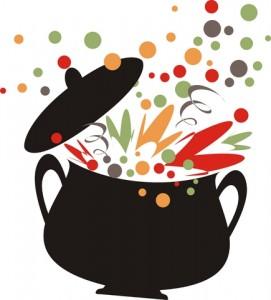 Pic bean soup clip art