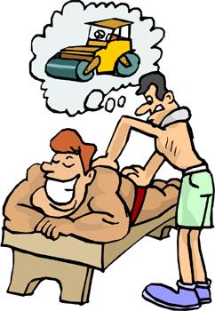 Massage Clip Art 2