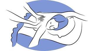 Massage stock illustration 3 massage clip art bilder und