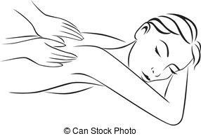 Massage stock illustrationen 8 massage clipart bilder und