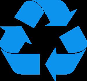 Recycle emblem clip art clipart