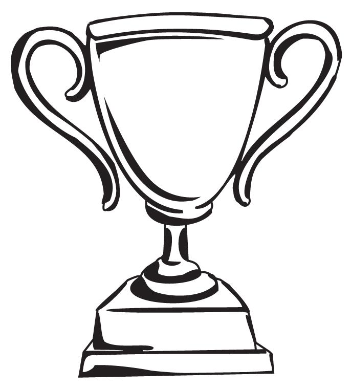 Trophy winner clip art image