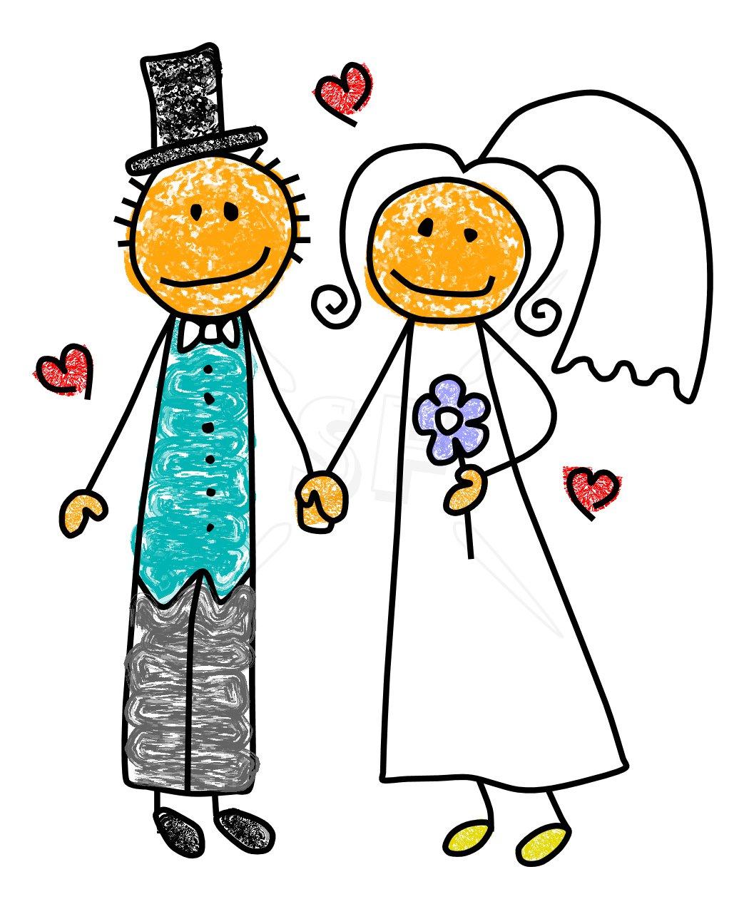 Bridal bride clipart clipart