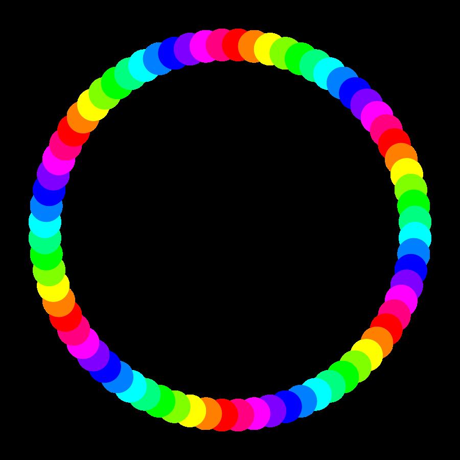 Circle clip art 3