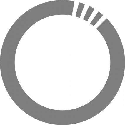 Circle clip art futurist circle clip art