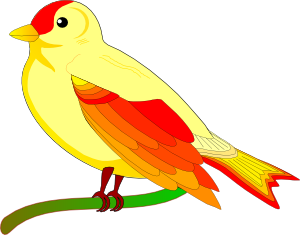 Free clip art of birds clipart image