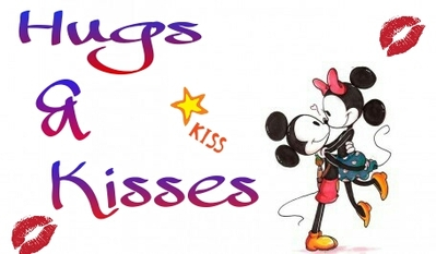 Hugs and kisses clipart 2
