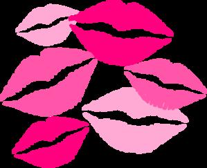 Kisses clip art at vector clip art